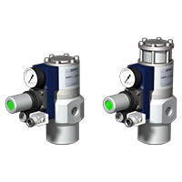 Tryckreglerande ventiler
